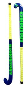 Shosholoza Wooden Reinforced Indoor Stick Electric - Blue & Lime