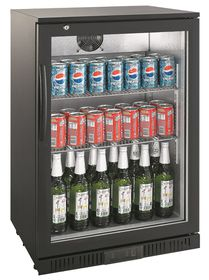 Hoffner Elegance - Beverage and Beer Cooler - Black