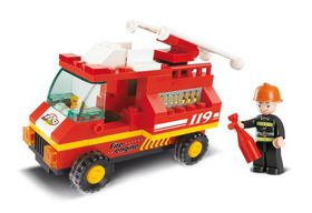 Sluban City Scene - Fire Engine