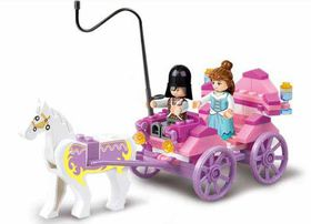 Sluban Girl's Dream - Princess Cart