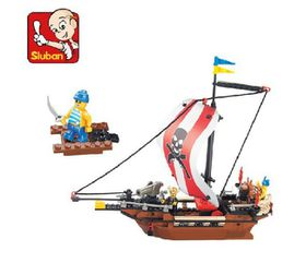 Sluban Pirate- Warriors Boat