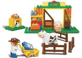 Sluban Medium Size Block- Happy Farm