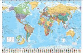 Peters world map buy online in south africa takealot world map 2015 gumiabroncs Images