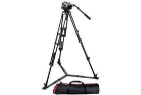 Manfrotto MVK504HD, 546GBK Manfrotto Video Kit 504HD Head + 546GB Tripod + 100PN Bag