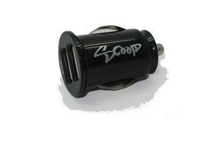 Scoop Dual USB Flush Mount Vehicle Power Adaptor - 2.1 Amp