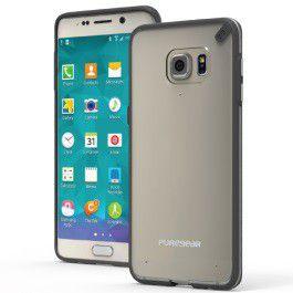 Puregear Samsung Galaxy S6 Edge Plus Slim Shell - Clear & Blue