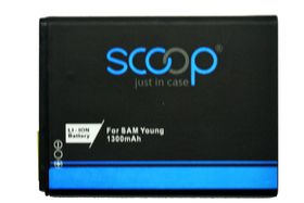 Scoop Battery For Samsung Galaxy Young & Ace Plus & Fame & Music