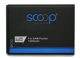 Scoop Battery For Samsung Galaxy Pocket & Pocketplus & Chat & Text