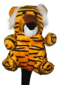 Jumbo Animal Golf Club Cover - Tiger