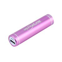 Ultra Link 2000 mAh Universal Portable Power Bank - Pink