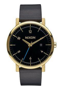 Nixon Rollo Gold & Black Watch - A945513-00