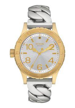 Nixon 38-20 Gold & Silver Chain Watch - A410-2281-00