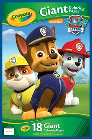 Crayola Paw Patrol Giant Coloring Book