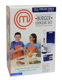 Masterchef Junior Burger Cooking Set