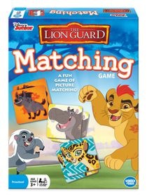 Lion Guard Matching Game