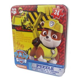 Paw Patrol Puzzle In Tin - 24 Piece