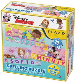 Disney Junior Match It Puzzle - 48 Piece