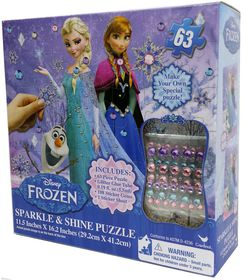 Frozen Sparkle and Shine Puzzle