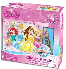 Disney Princess Charm Puzzle With Bracelet