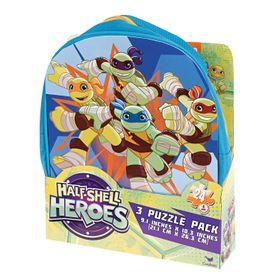 Teenage Mutant Ninja Turtle 3 Puzzle In Backpack