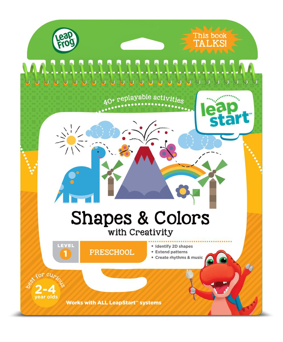Leapfrog Leapstart Junior - Shapes And Colors Book | Buy Online in ...
