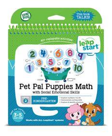 LeapFrog Leapstart Junior - Pet Pal Puppies Math
