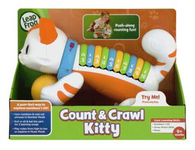 LeapFrog Count and Crawl Kitty