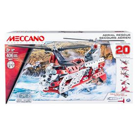 Meccano 20 Model Set - Helicopter