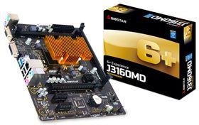 Biostar J3160MD Motherboard with On-board Intel Celeron J3160 Quad-core