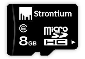 Strontium 8GB Class 6 MicroSD Card