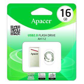 Apacer AH112 16GB USB2.0 Flash Drive - Red