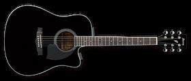 Ibanez PF Series PF15ECE-BK Acoustic Guitar