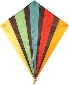 Allwin Diamond Kite Single Line Multi-colour - 82cm x 88cm