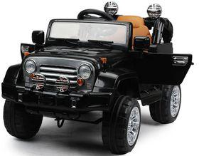Jeep Kids Ride On Car - Black