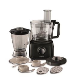 Philips - Daily Food Processor - Black