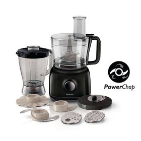 Philips - Daily Collection Food Processor - Black