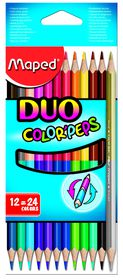 Maped Color'Peps Duo 12=24 Colouring Pencils