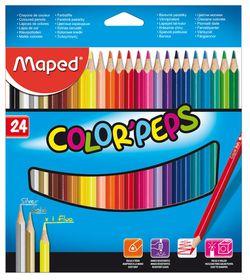 Maped Color'Peps 24 Colour Pencils