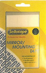 Sellotape Double Sided Mirror / Mount Squares