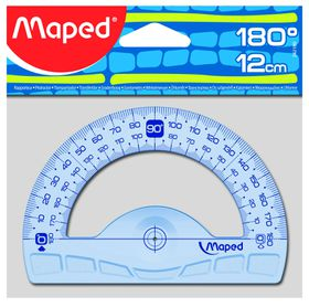 Maped Protractor 180 Degree - 12cm
