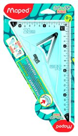 Maped 2-in-1 Set Square (45 and 60 Degree)