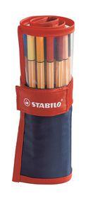 Stabilo Point 88 Fineliners - Denim Roller (Set of 25)