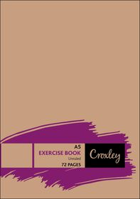Croxley JD173 72 Page A5 Unruled Exercise Books (20 Pack)