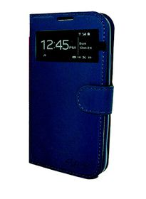 Scoop Easyview Folio For Samsung S4 - Navy Blue