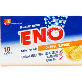 Eno Fruit Salts Orange - 10 Sachets