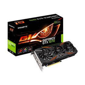 Gigabyte GeForce GTX 1070 G1 Gaming Edition Graphics Card - 8GB