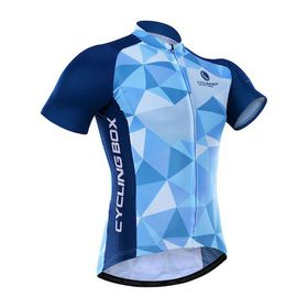 Cycling Box Jersey - Blue Starry Sky
