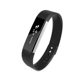 Tuff-luv Silicone Strap for the FitBit Alta Size Large - Black