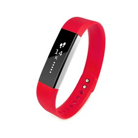 Tuff-luv Silicone Strap for the FitBit Alta Size Large - Red