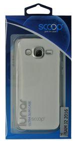 Scoop Lunar Case for Samsung Galaxy J2 2016 - Silver
